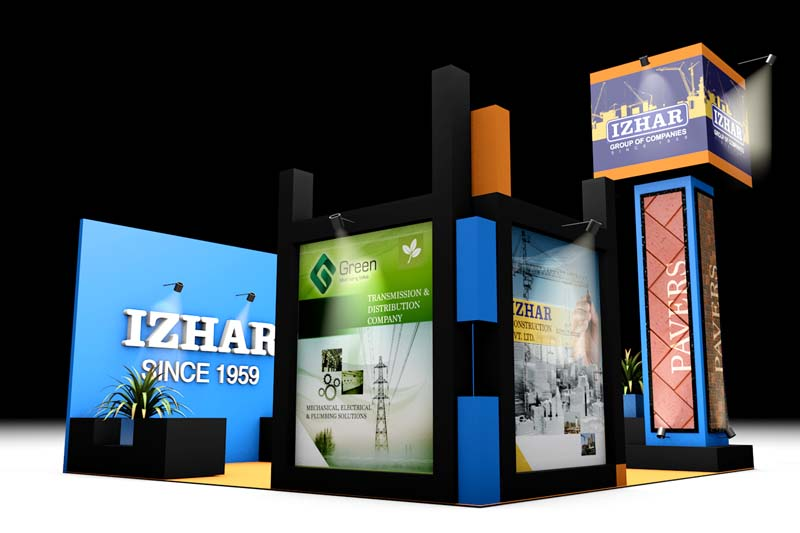 Exhibition Stall Design by Divine Works