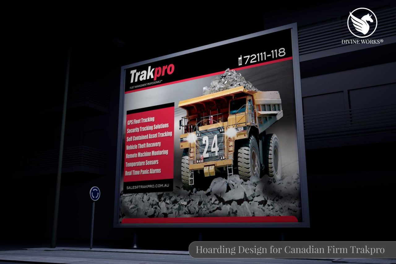 Canadian Firm Trakpro Hoarding Design By Divine Works
