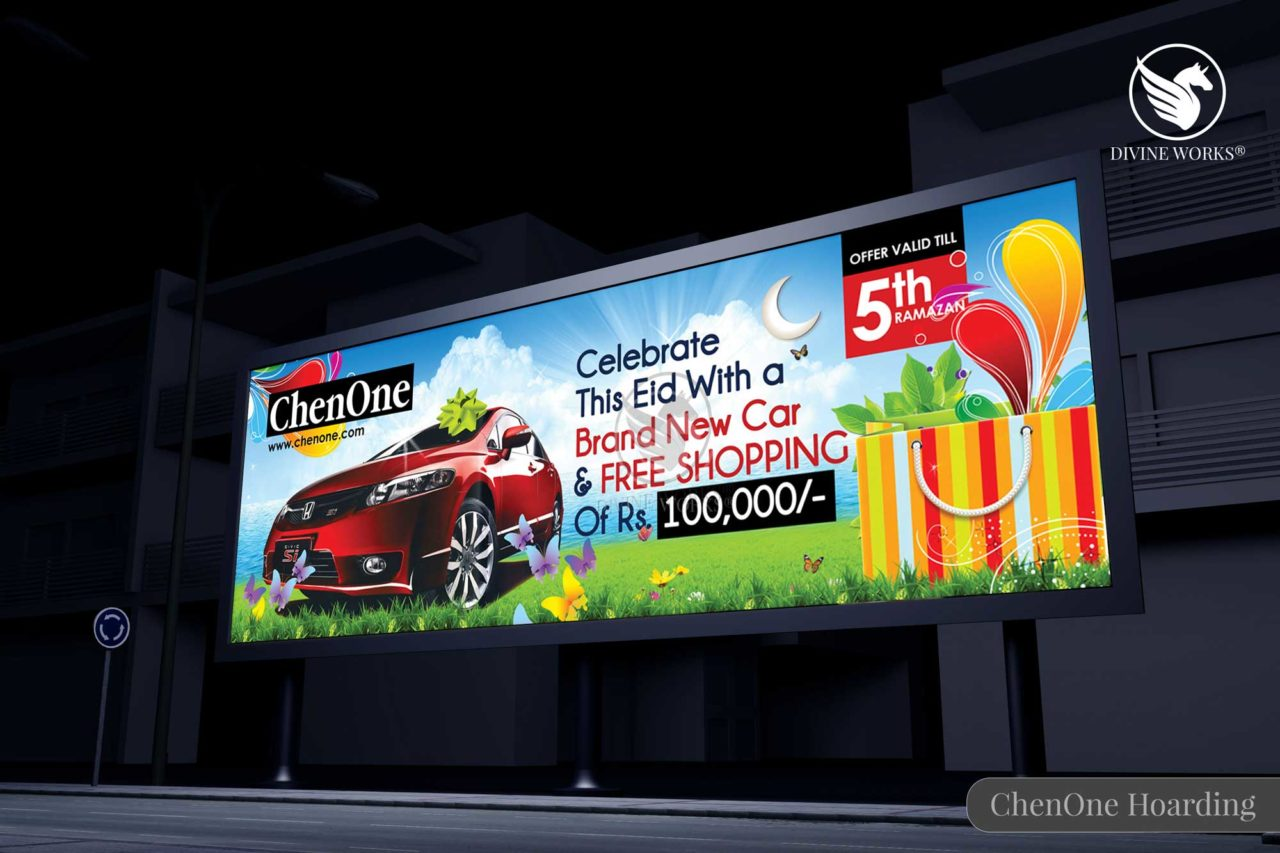 ChenOne Hoarding Design By Divine Works
