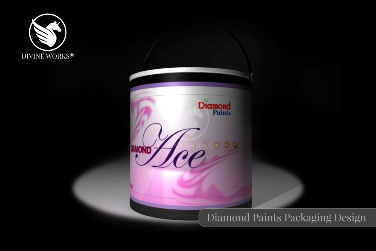 Diamond Paint Box Packaging Design By Divine Works