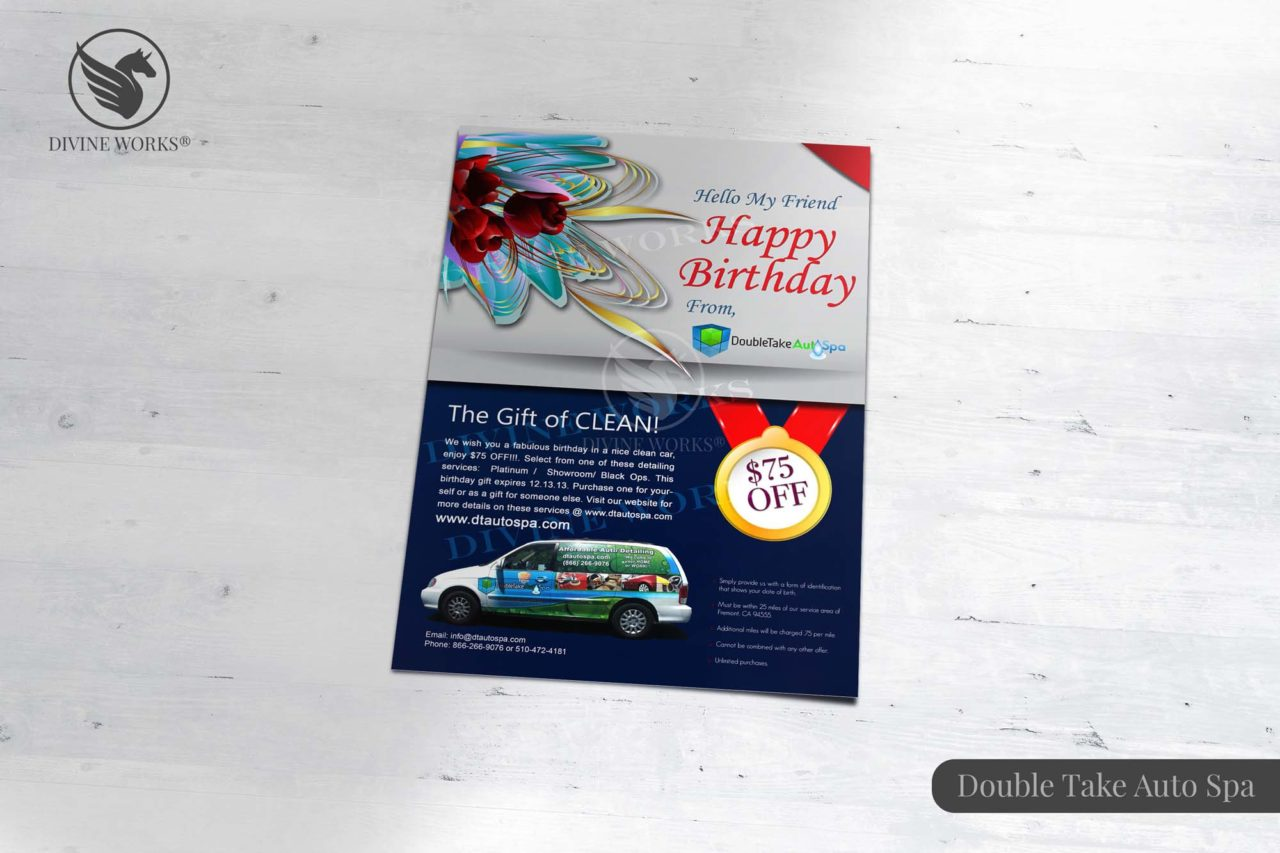 Double Take Brochure Design By Divine Works
