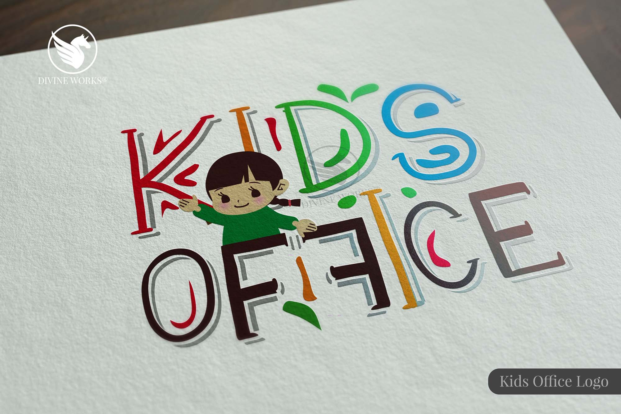 Kids Ofiice Logo by Divine Works