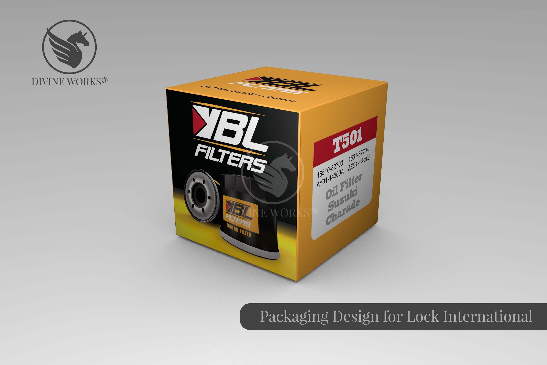 Car filter Packaging Design By Divine Works