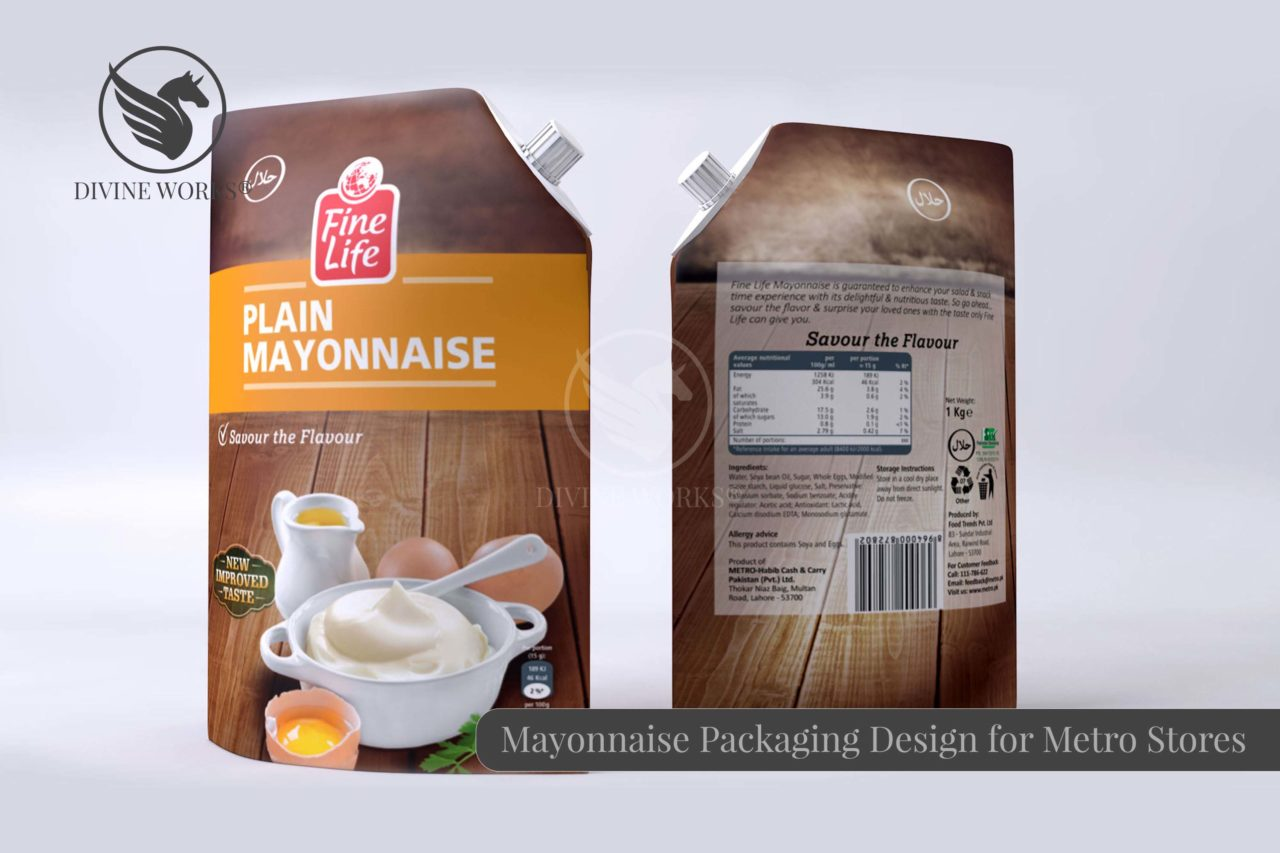 Mayonnaise Packaging Design By Divine Works