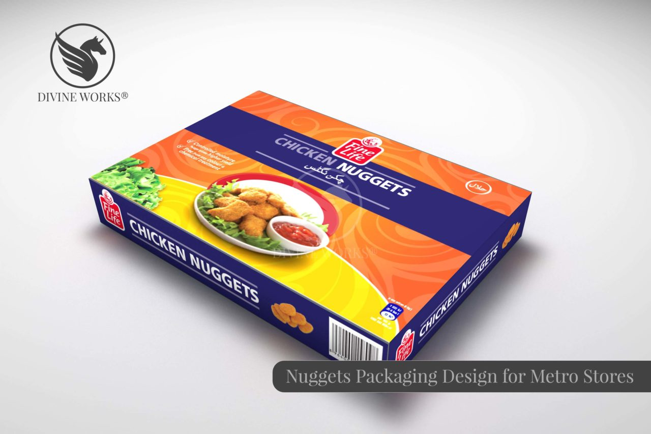 Metro Nuggets Packaging Design By Divine Works