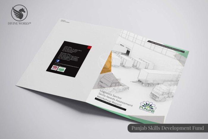 Punjab Skills Brochure Design By Divine Works