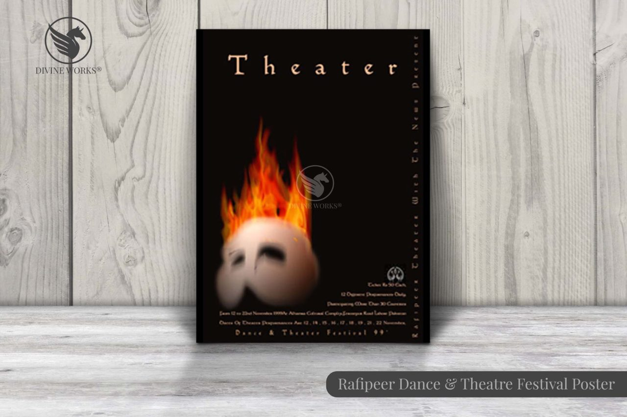 Dance & Theatre Festival Poster Design By Divine Works