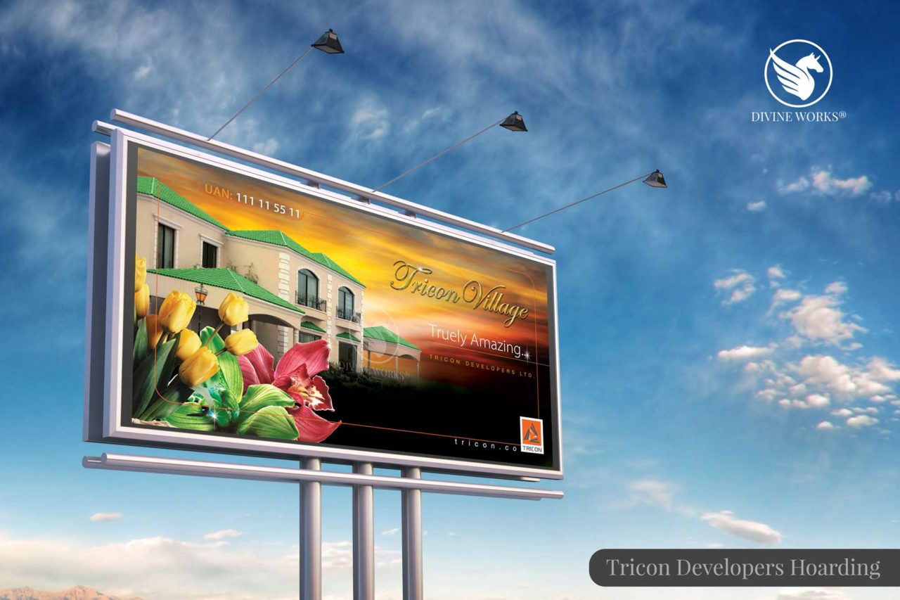 Tricon Developers Hoarding Design By Divine Works