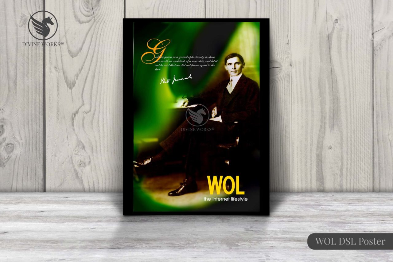 Quaid-e-Azam Poster Design By Divine Works