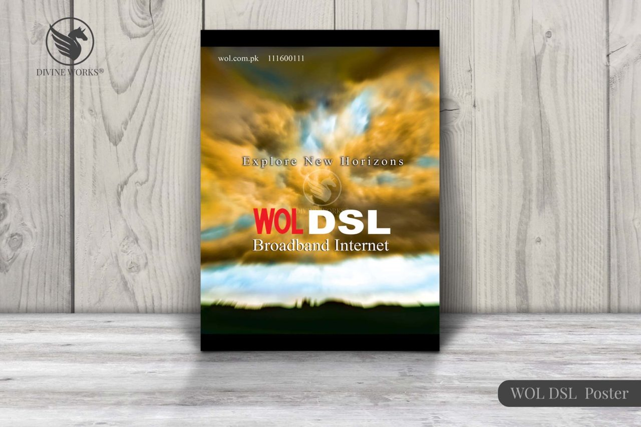 WOL DSL Poster Design By Divine Works