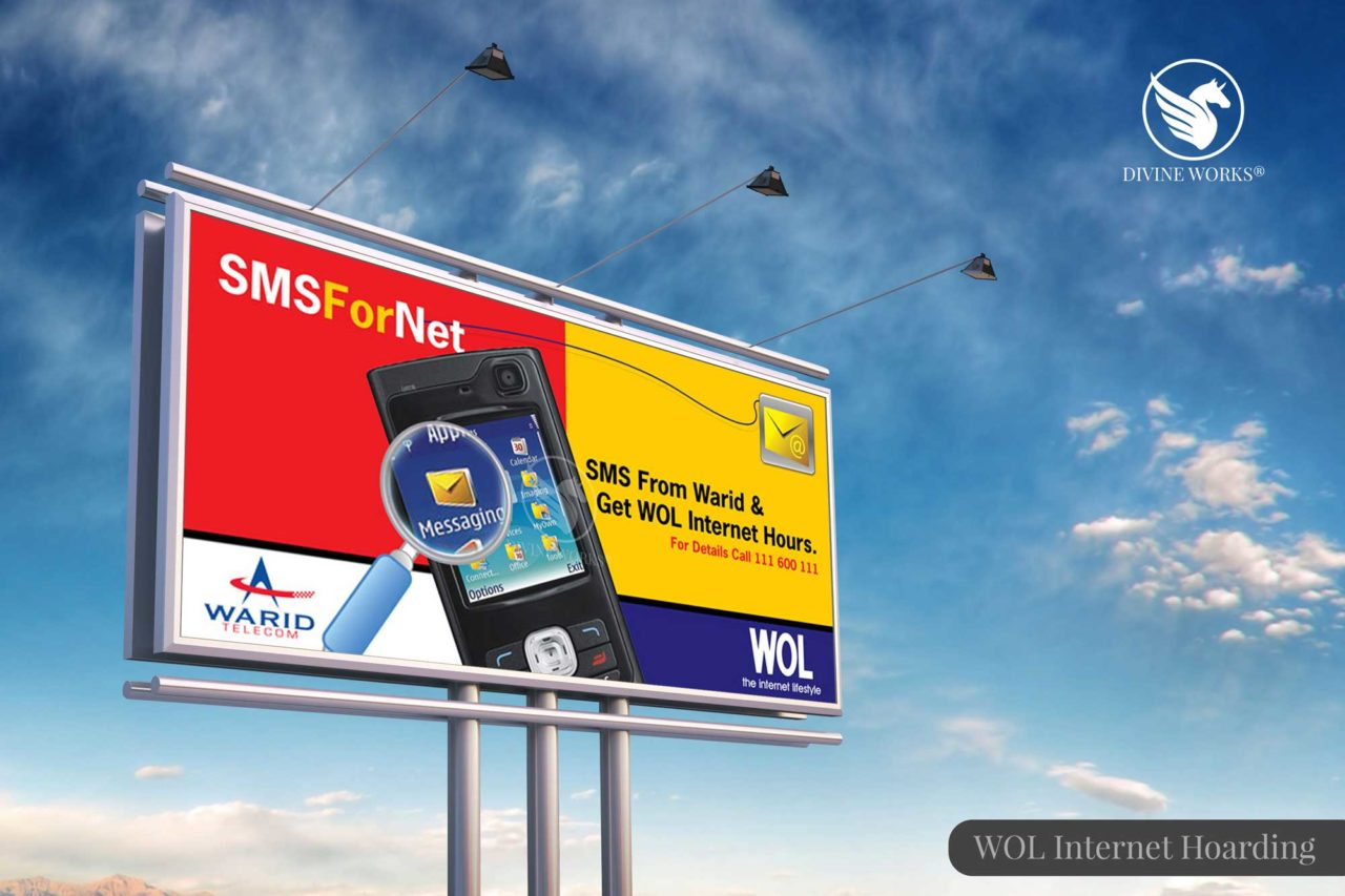WOL DSL Hoarding Design By Divine Works