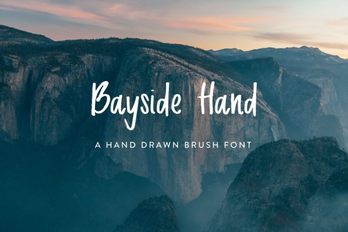 Bayside Hand - Hand Drawn Font