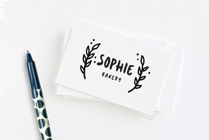 Cute handwritten font Sookie