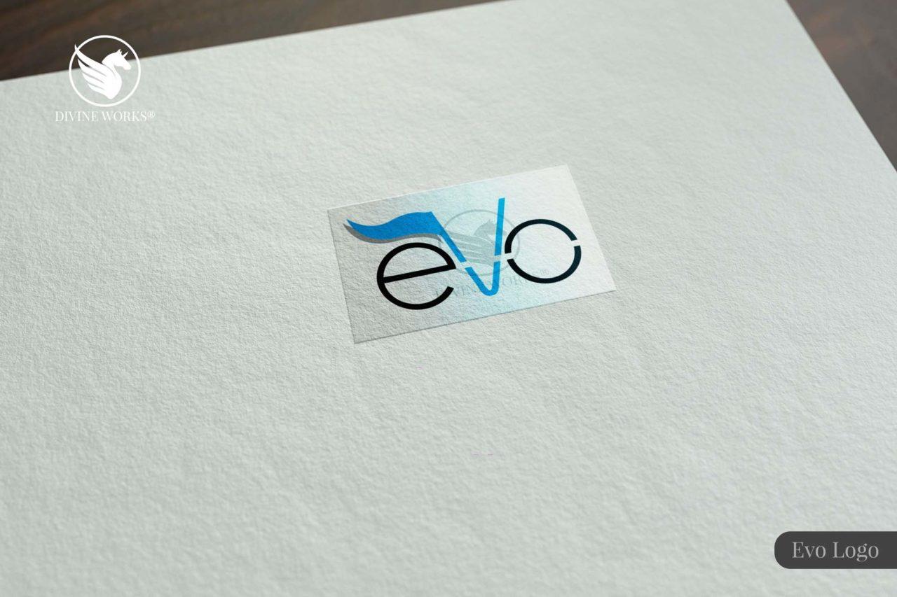 Evo Logo Design By Divine Works