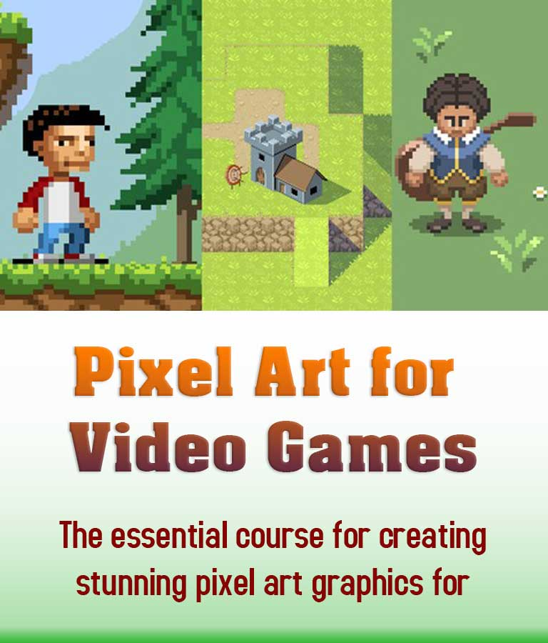 Pixel art for Video games