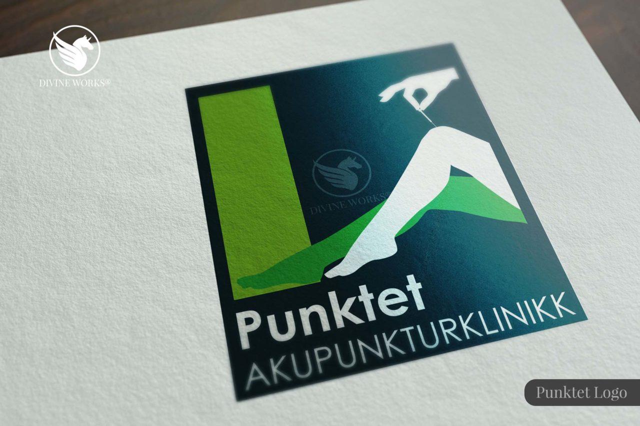 Punktet Logo Design By Divine Works
