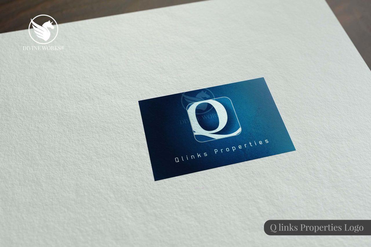 Qlinks Logo Design By Divine Works