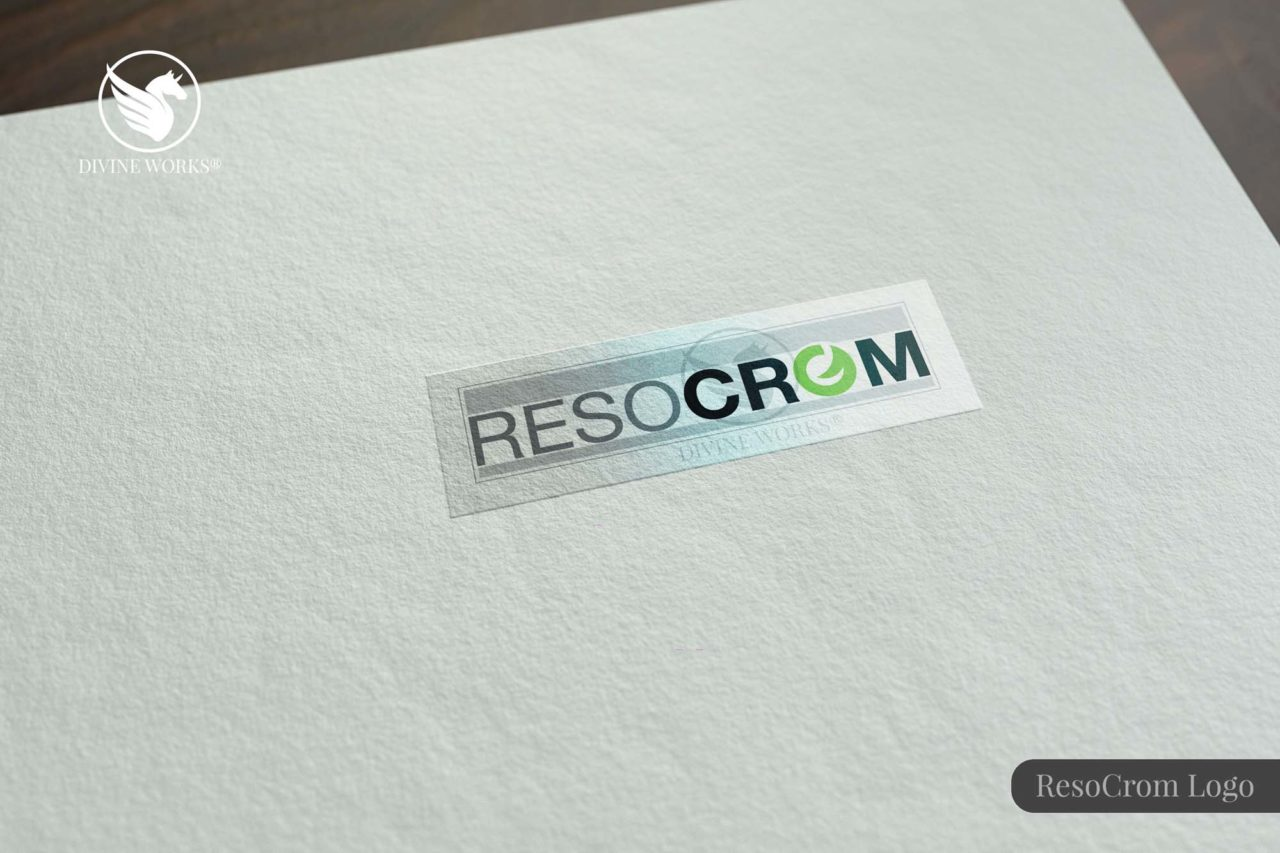 Reso Crom Logo Design By Divine Works