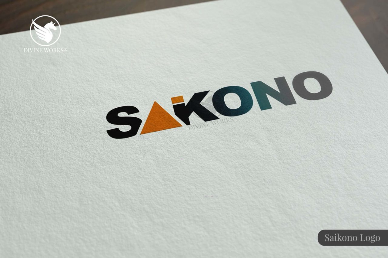 Saikono Logo Design By Divine Works