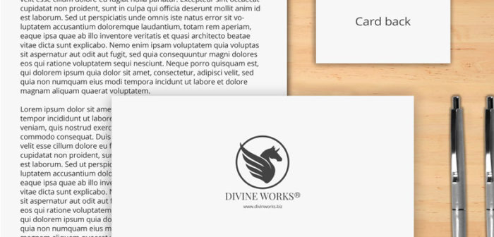 Stationary Mockup by Divine Works