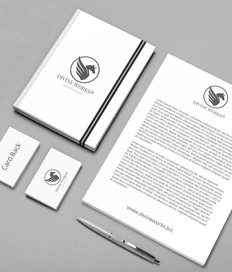 Free Stationary Mockup by Divine Works