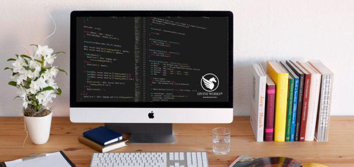 Free iMac Mockup by Divine Works