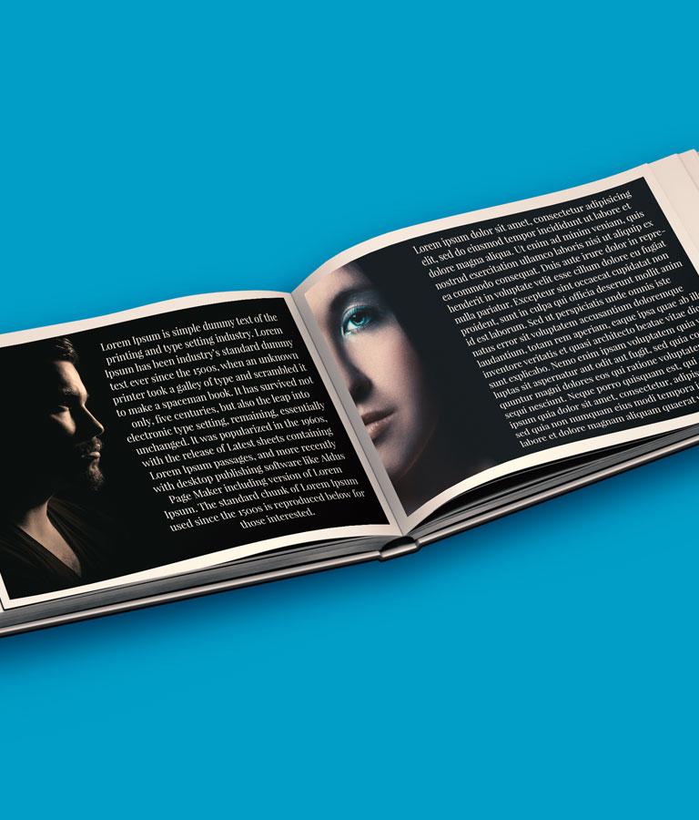 Free Album Book Inside Mockup by Divine Works