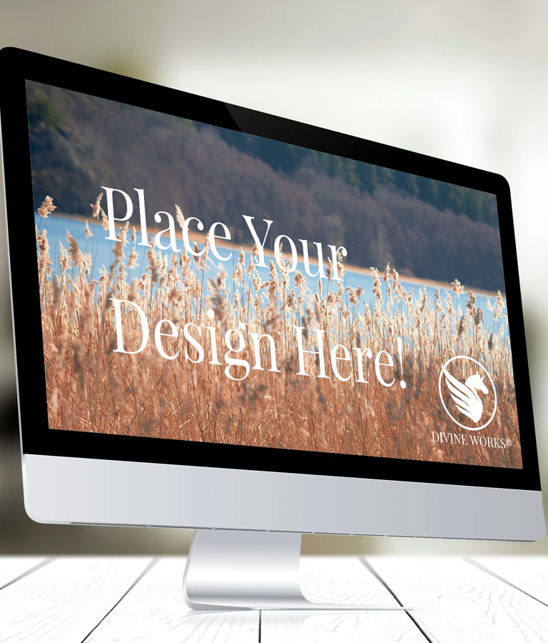 Free Apple iMac Mockup by Divine Works