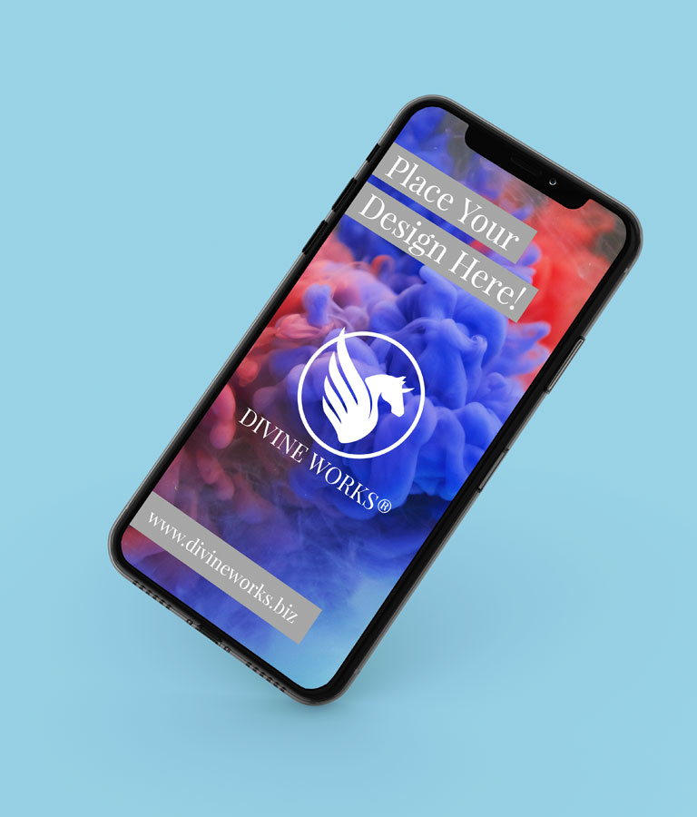 Free iPhone X Perspective Mockup by Divine Works