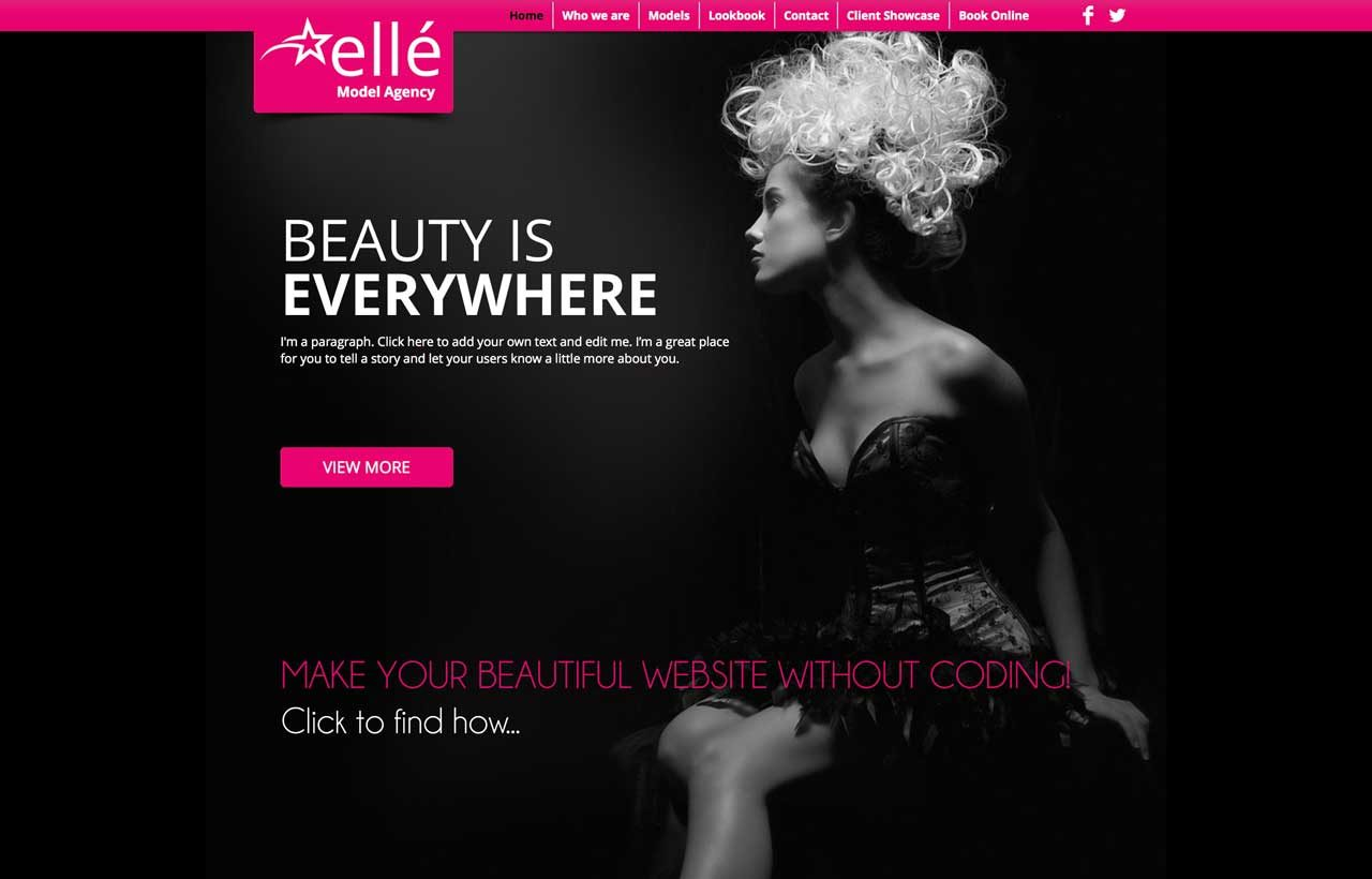 MAKE YOUR BEAUTIFUL WEBSITE WITH WIX