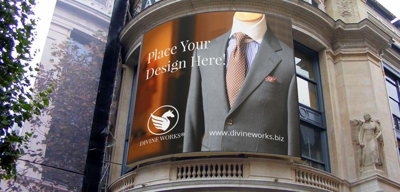 Free Outdoor Billboard Mockup by Divine Works