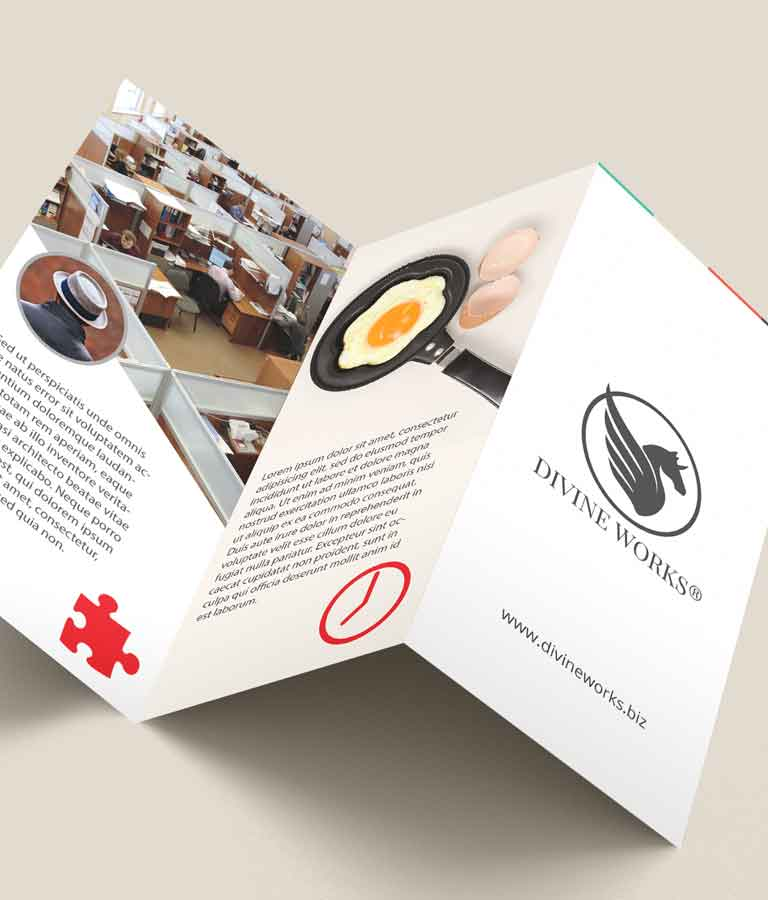 Free Tri Fold Brochure Mockup by Divine Works