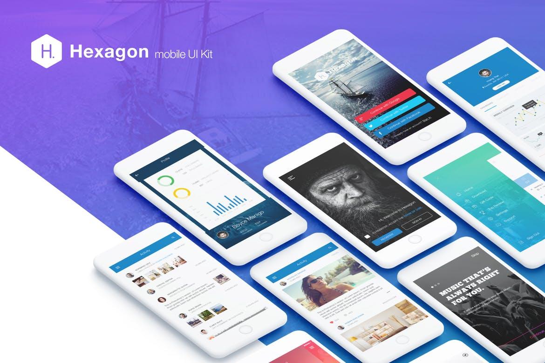 Download Mobile UI Kit