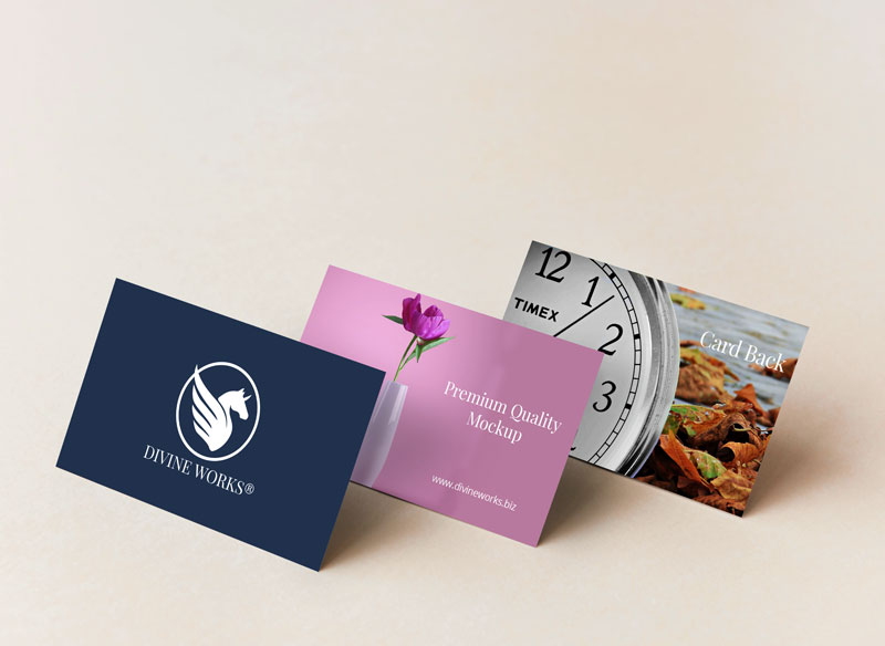 Free Branding Business Cards Mockup by Divine Works