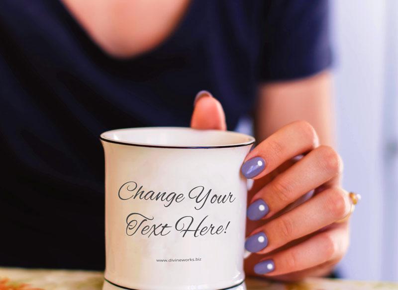 Free Mug Mockup by Divine Works