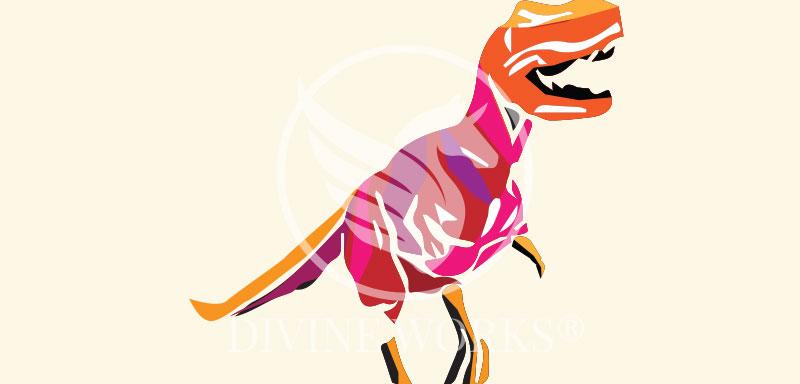 Free Adobe Illustrator T Rex Vector Illustration by Divine Works