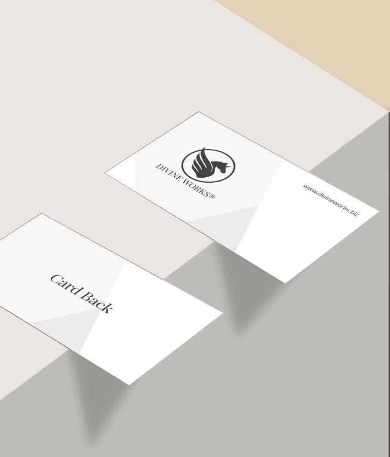 Free Business Card On Table Mockup by Divine Works