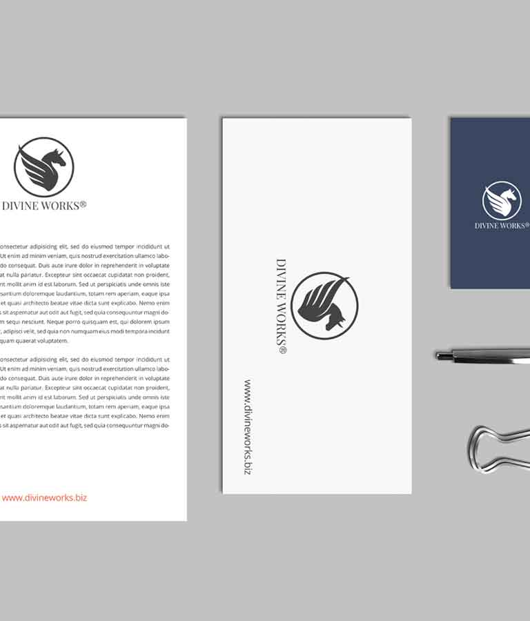Free Complete Stationery Mockup by Divine Works