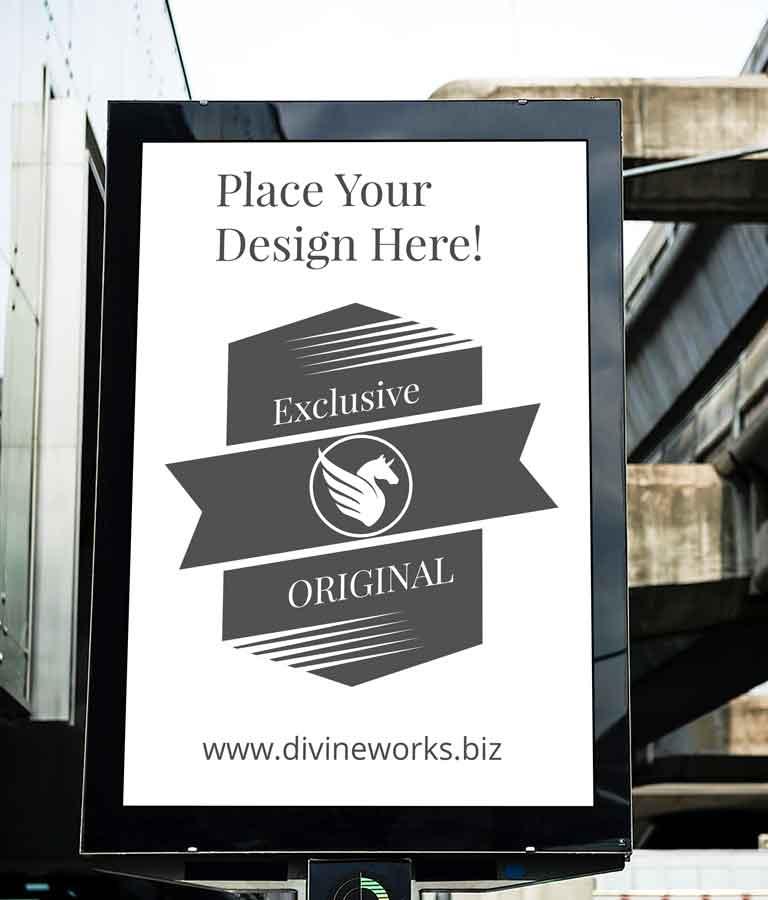 Free Billboard Outdoor Advertising Mockup by Divine Works
