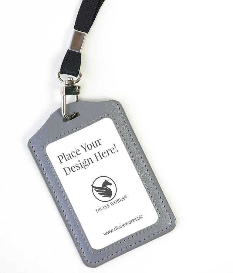 Free Card Holder Mockup by Divine Works
