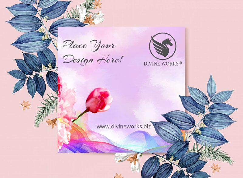 Free Greeting Card Mockup by DIvine Works