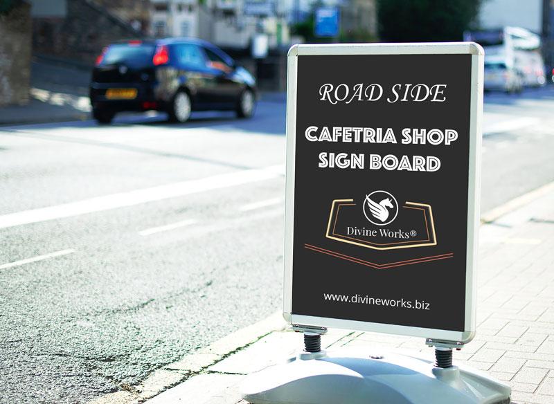 Free Road Side Sign Mockup by Divine Works