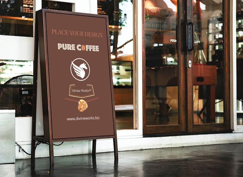 Free Shop Sign Mockup by Divine Works