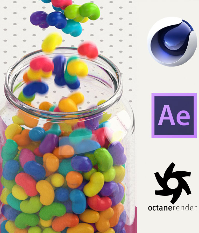 Cinema 4D - Looping 3D Animation for Instagram and GIF