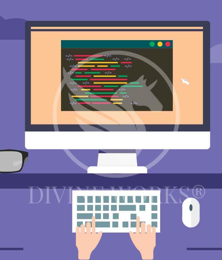 Free Adobe Illustrator Programing Vector illustration by Divine Works