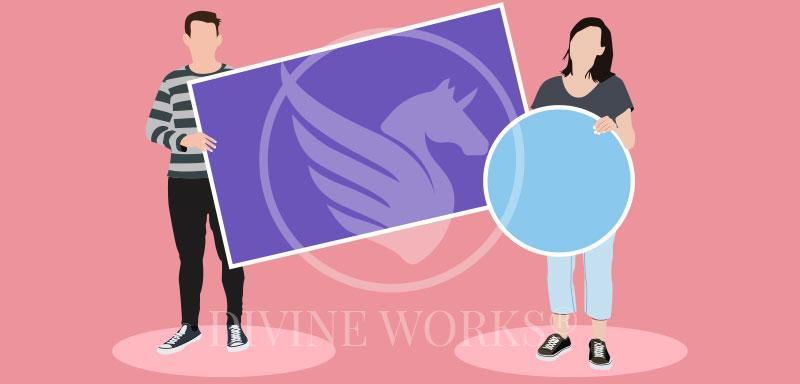 Free Adobe Illustrator Social Vector Illustration Divine Works