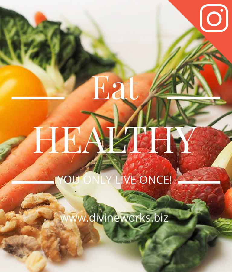 Free Healthy Instagram Templates by Divine Works