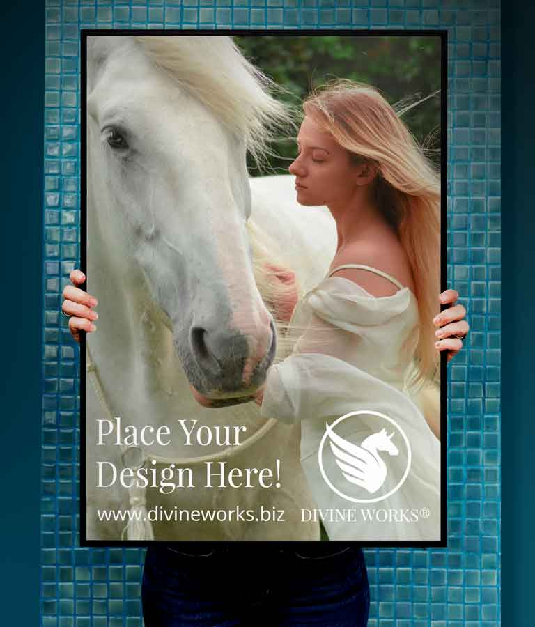 Free Picture Frame In Hand Mockup by Divine Works