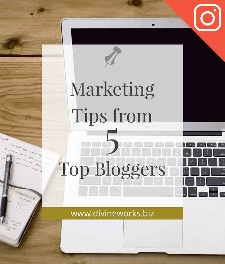 Free Marketing Bloggers Instagram Template by Divine Works
