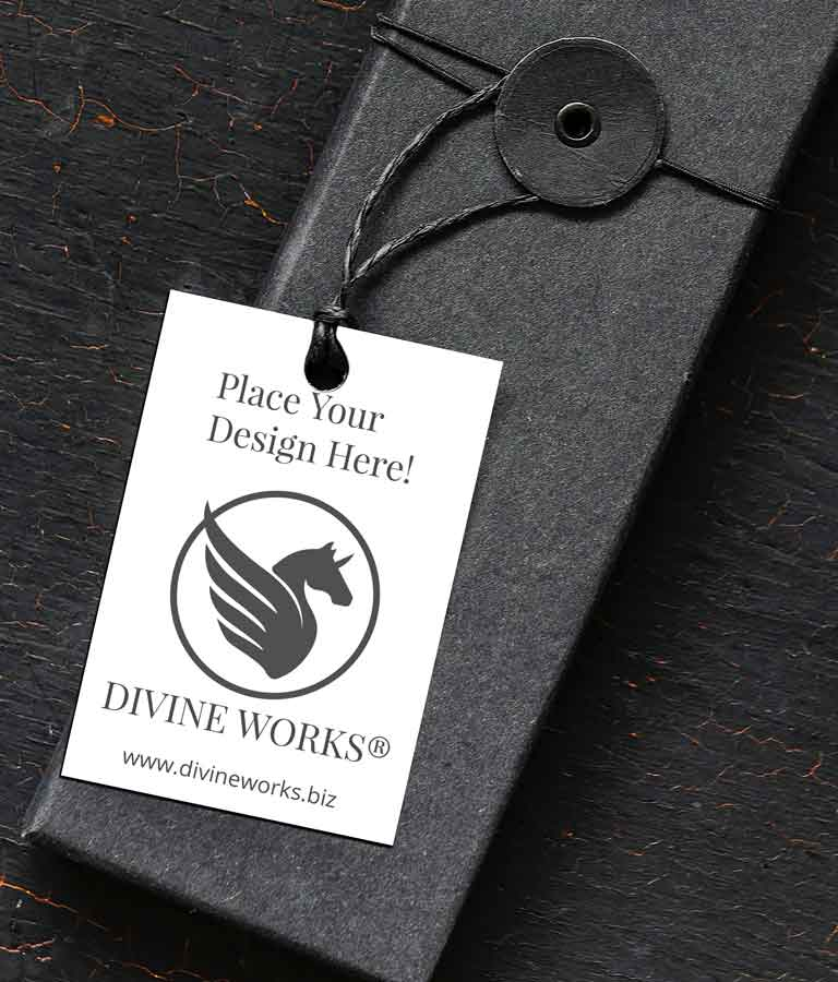 Free Box Packaging Label Mockup by Divine Works